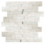Panel Ścienny BIANCO Stackstone White 36 x 10 cm