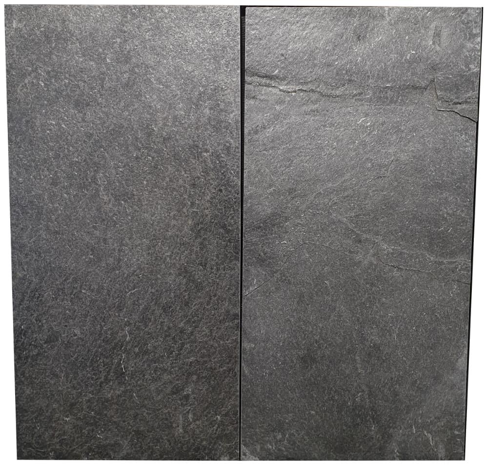 Płytki z łupka silver grey